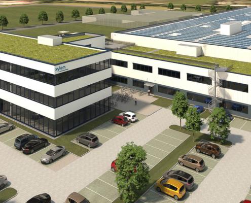 Xylem Logistikimmobilie Weilheim